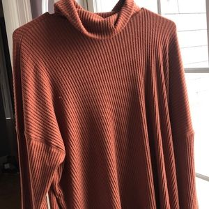 American eagle orange sweater